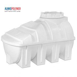 مخزن زیرپله 800 لیتری پلی اتیلن سه لایه فروشگاه مخازن پلاستیکی الماس پلیمر