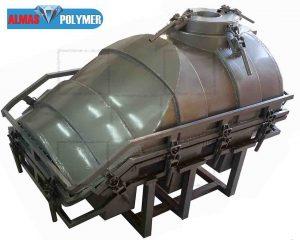 قالب فلزی مخزن ۵۰۰ لیتری زیرپله