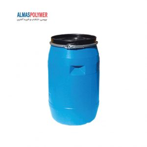 بشکه ۱۲۰ لیتری دهانه باز بارینگ فلزی