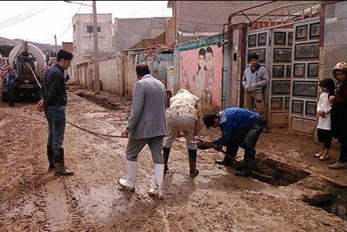 مخزن پلی اتیلن سیار  و تامین آب بهداشتی در مناطق سیل زده